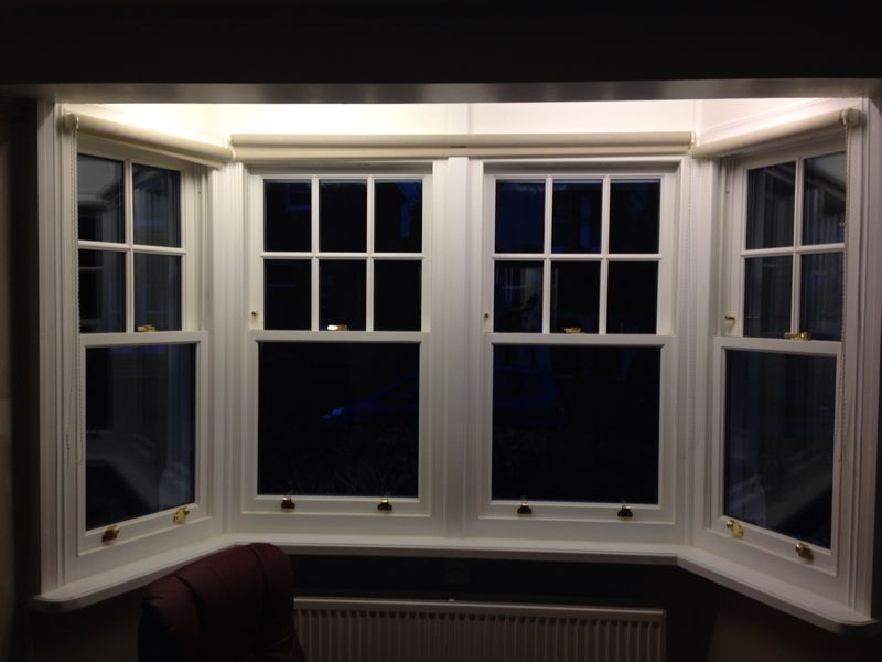The charm of sash windows