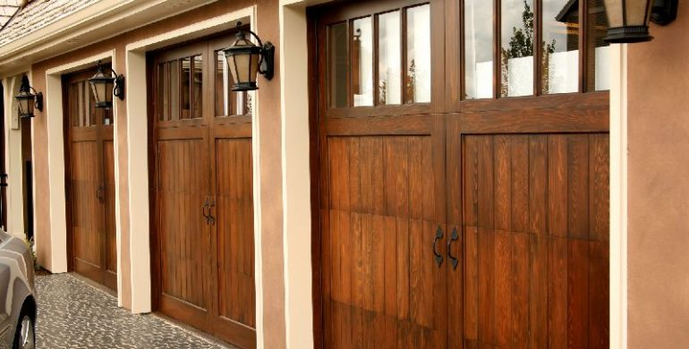 Why You Should Choose a Wooden Garage Door